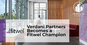 Verdani Partners Becomes a Fitwel Champion and Offers New Building Certification Service