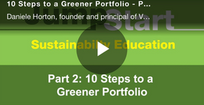 REIT ESG Jumpstart Program: Verdani Partners' 10 Steps to a Greener Portfolio