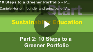 REIT ESG Jumpstart Program: Verdani Partners' 10 Steps to a Greener Portfolio