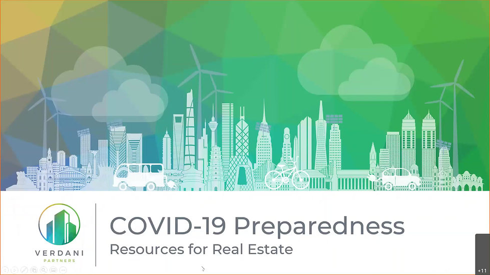2020 COVID-19 Real Estate Impact Presentation Verdani Partners