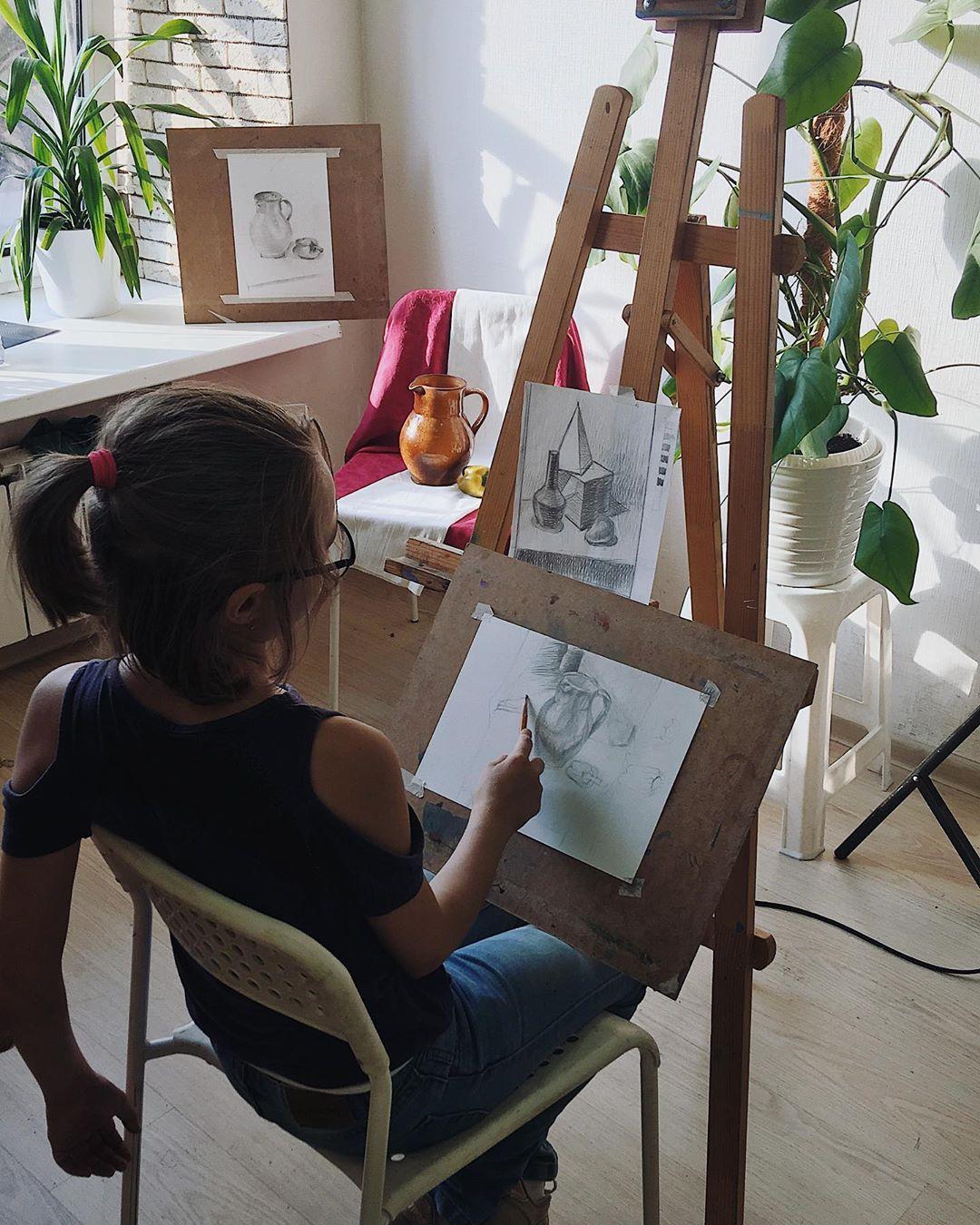рисунок для детей карандашом