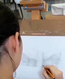 глаза Давида рисунок