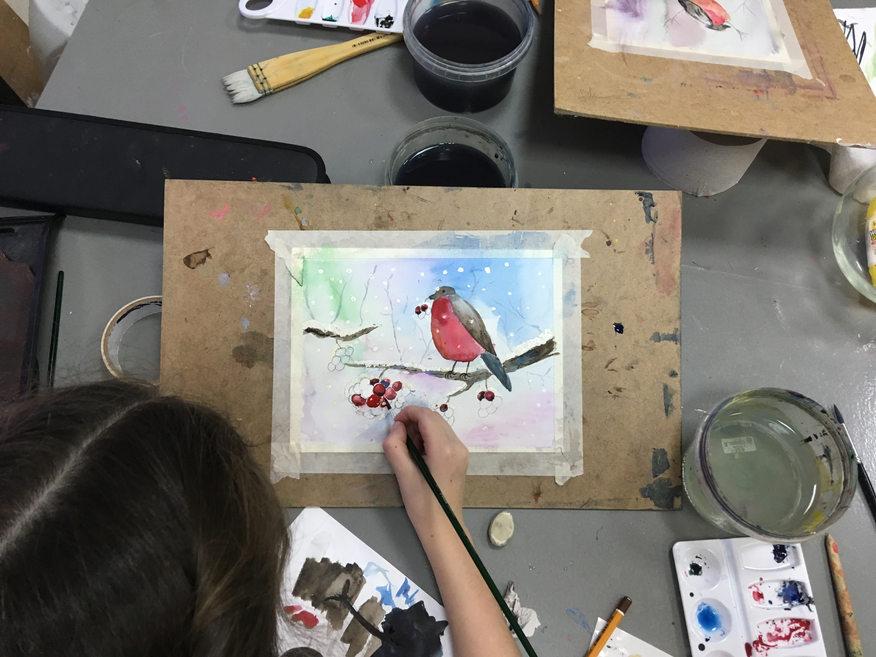 школа рисования для детей краснобогатырс
