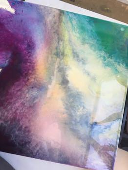 эпоксидная смола картина изостудия Рисуе