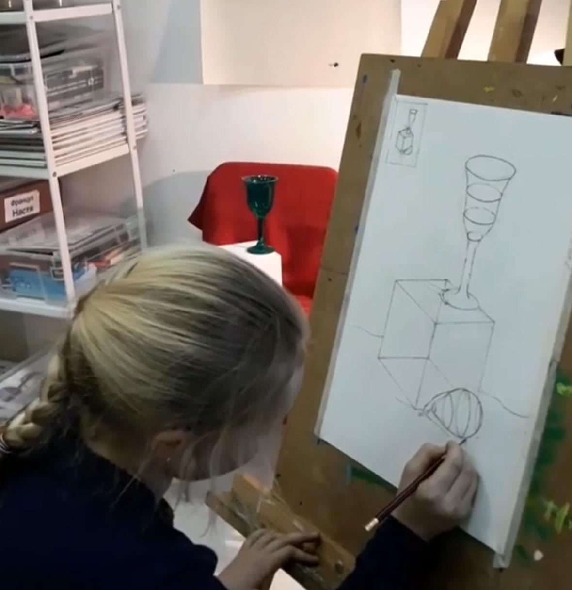 академ рисунок подростки