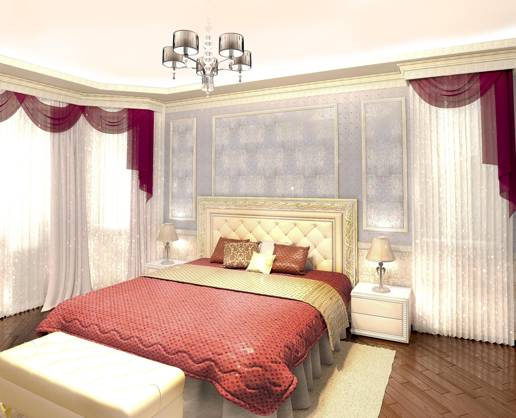 дизайн-проект спальня