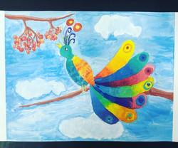 птица-радуга