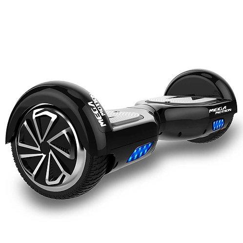Mega Motion E1 Hoverboard 6.5 inch Black