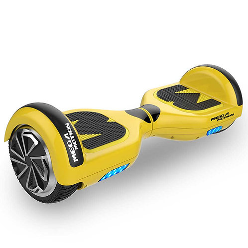 Mega motion E1 Hoverboard 6.5 inch Yellow