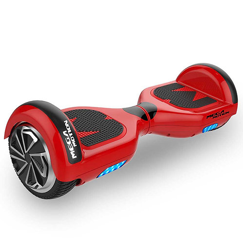 Mega Motion E1 Hoverboard 6.5 inch Red