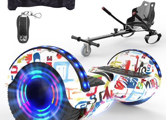 6.5 inch Hoverboard Segway with Kart
