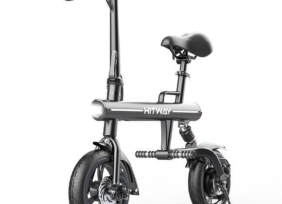 HITWAY Electric Bike Foldable  made of Aviation Aluminum Foldable, 7.5 Ah, 250 W