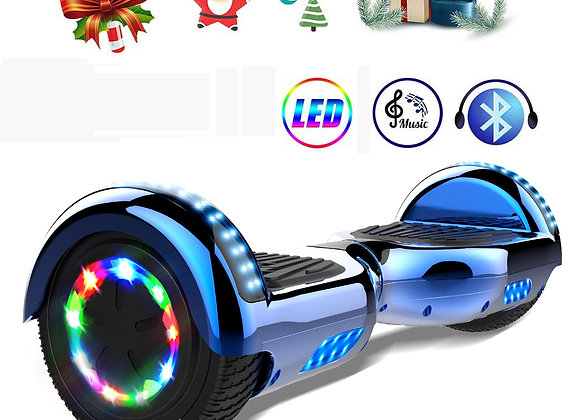 6.5 inch Hoverboard Segway with LED lights & 700W Motor