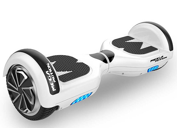 Mega Motion E1 Hoverboard 6.5 inch White