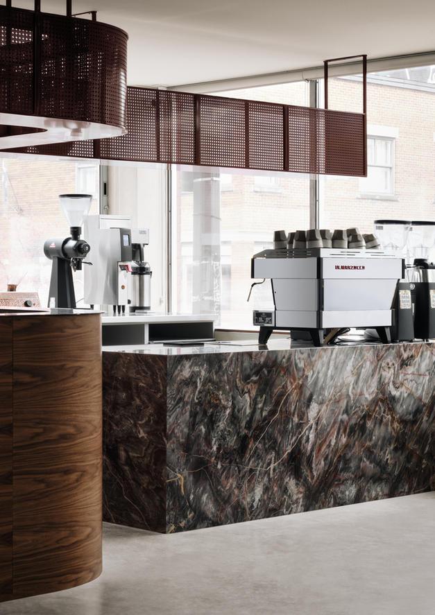 Cafe Chez Téta - Groupe Manovra & IVY Studio