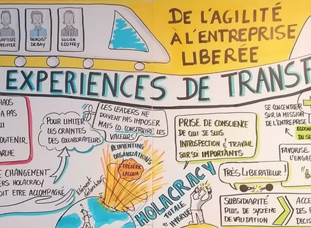 Agile Tour Lausannne - Facilitation Graphique - Agathe Loret