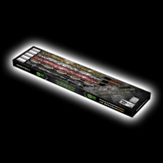 Schweifkometen-Powerpack (5er Sortiment)