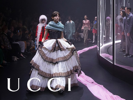 Gucci 2020 vision, Alessandro Michele's trilogy to breaking the fashion norm