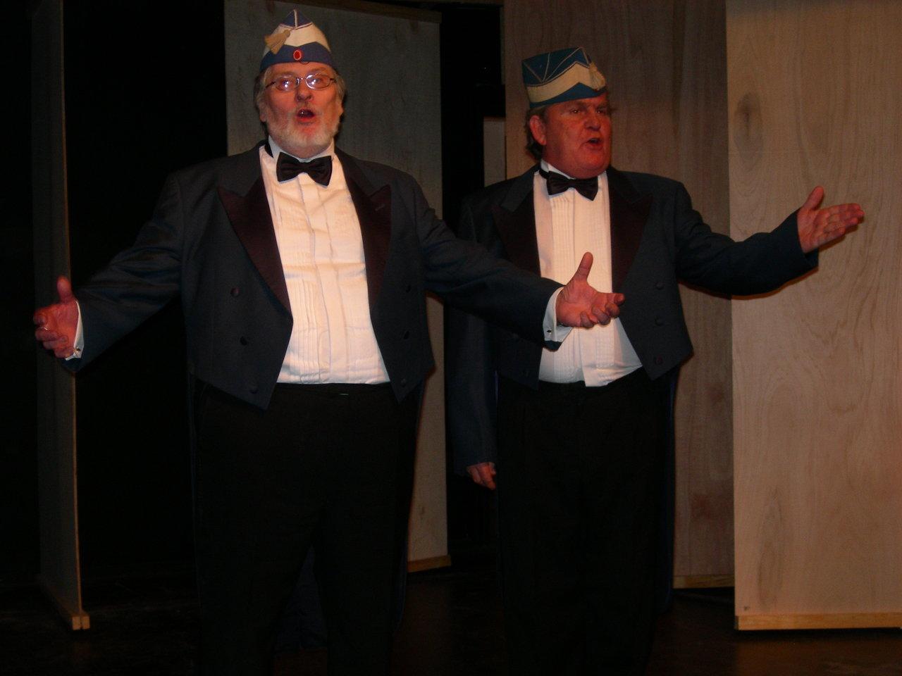 Bo Jalsig og Ole Holmgren