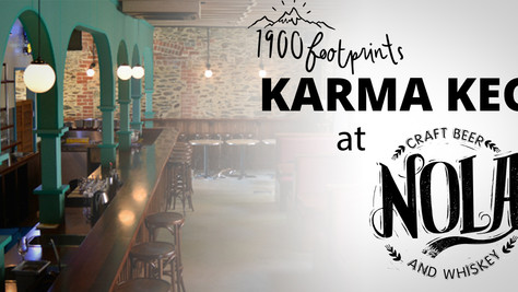 1900 Footprints Karma Keg at Nola