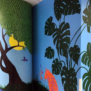 Vibrant Mural