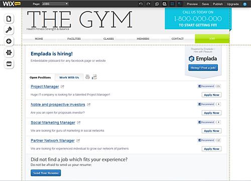 JOBS Overview | WIX App Market | Wix.com