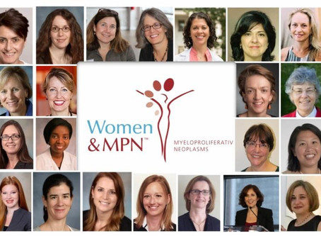 From  MPN Advocacy & Education International in honor of  International Women's Day