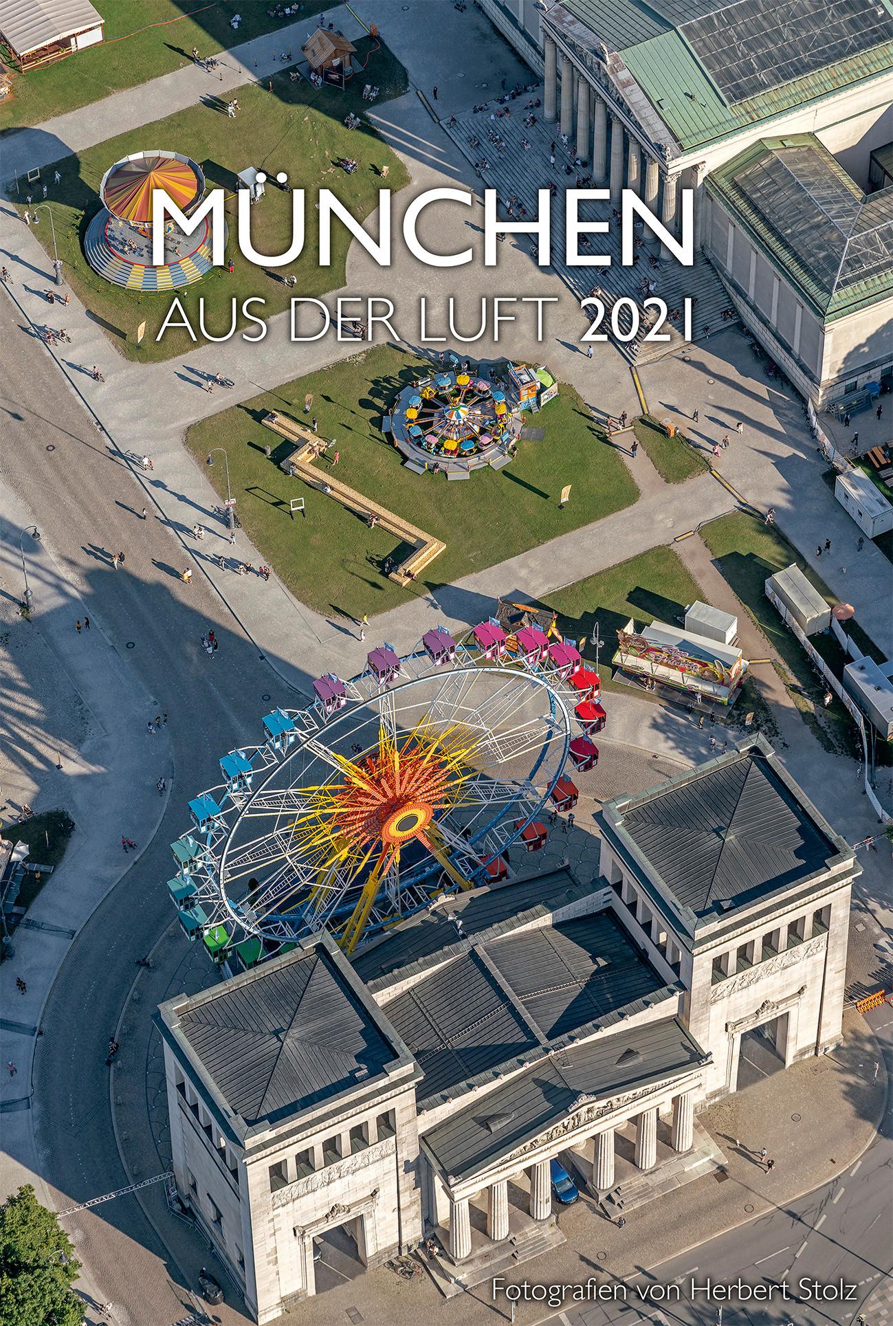 München aus der Luft 2021