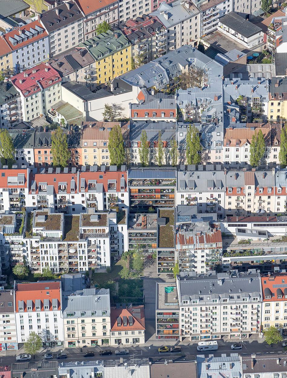 München aus der Luft