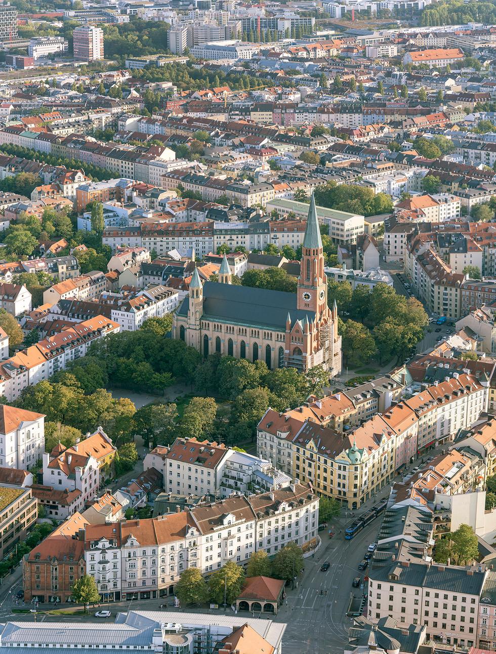Max-Weber-Platz, Johannisplatz, Haidhausen