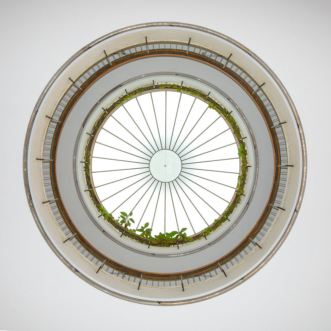 Amerika-Haus, Rotunde,  Staatliches Bauamt München I