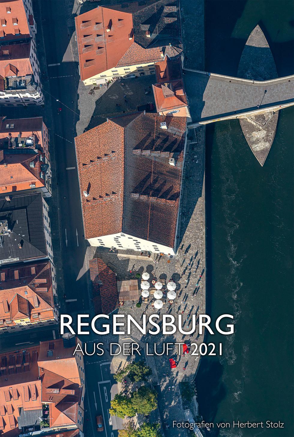 Regensburg aus der Luft 2021