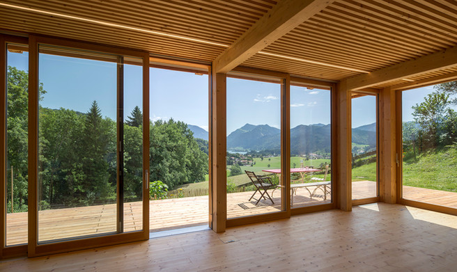 Holzhaus in Oberbayern, für den Bauherren