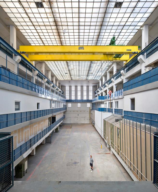 Halle E, ehem. Lagerhalle des E-Werks, München