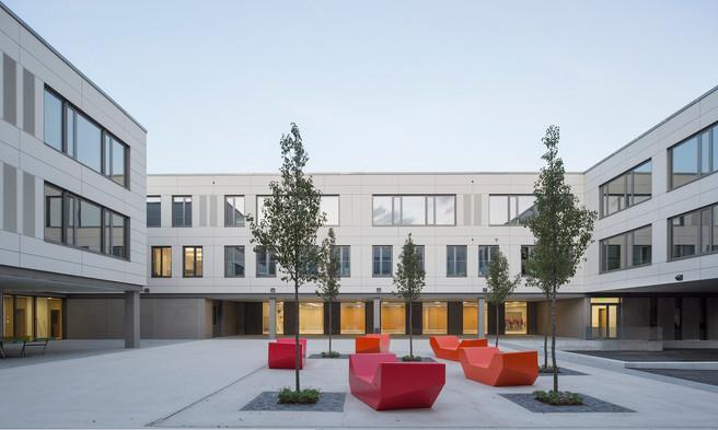 Robert-Koch-Gymnasium Deggendorf, HIW Architekten, Bogen