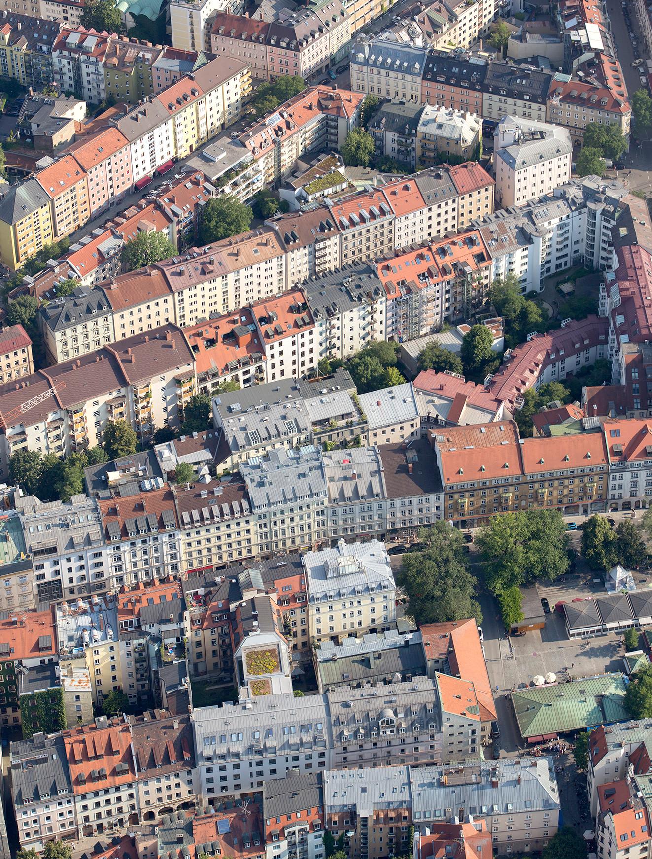 Glockenbachviertel, Viktualienmarkt