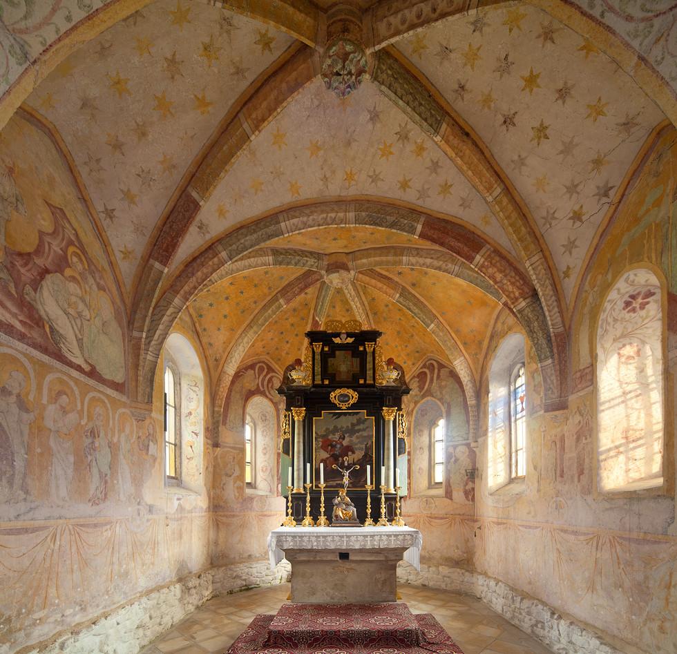 St. Georgskirche Gronsdorf, Schnell & Steiner