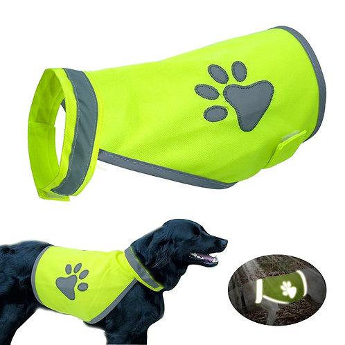 Reflective Dog Vest HighVisibility Small Large Dogs Safety Vests Hiking Walking
