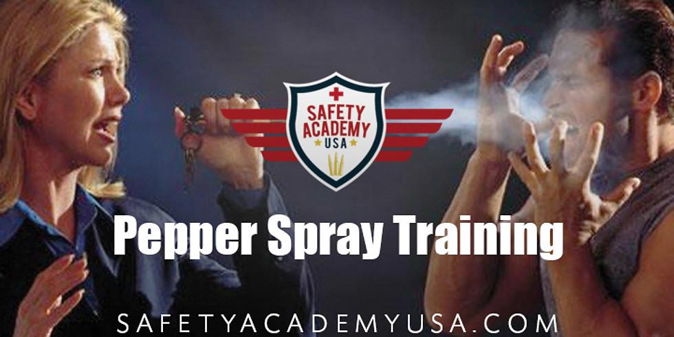 Pepper Spray Class for Civilians