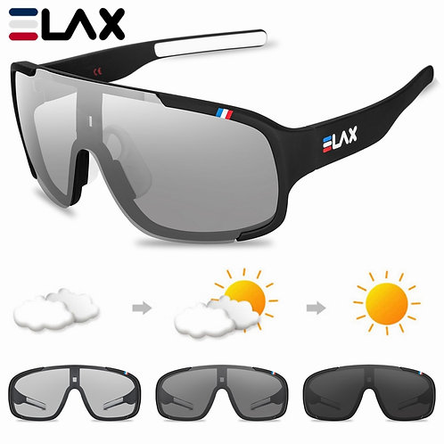 ELAX Polarized and Photochromic Cycling Glasses Outdoor Cycling Eyewear