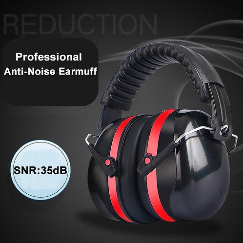 Head Earmuffs Foldable Ear Protector SNR-35dB for Kults  Work Shooting ids/Ad