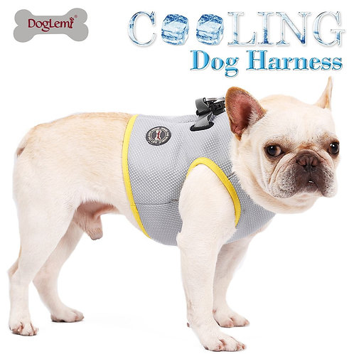 New Summer Dog Cooling Vest Breathable Dog Cooling  Mesh Reflective Vest