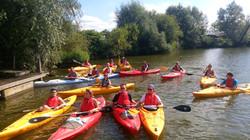 kayak in the sun WWTCC