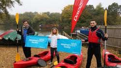 kayak the thames charity paddle