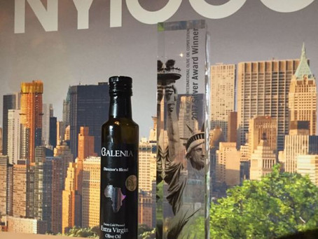 Galenia Extra Virgin Olive Oil receives International recognition
