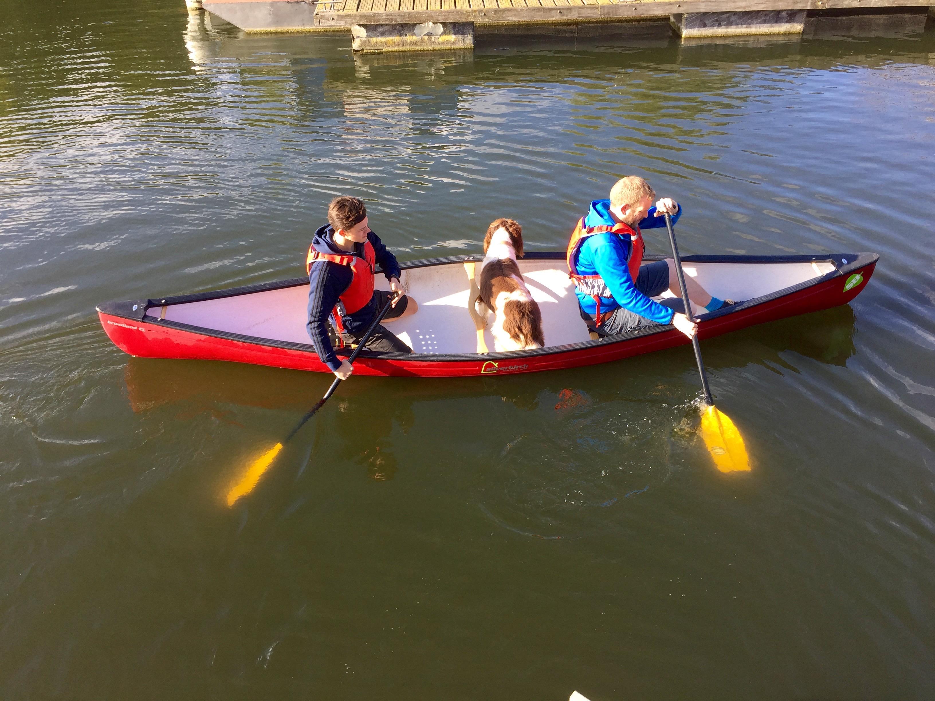 canoe and kayak the thames