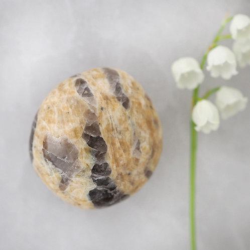 Zebradorite trumlad, en sten kopplad till själskontrakt.
