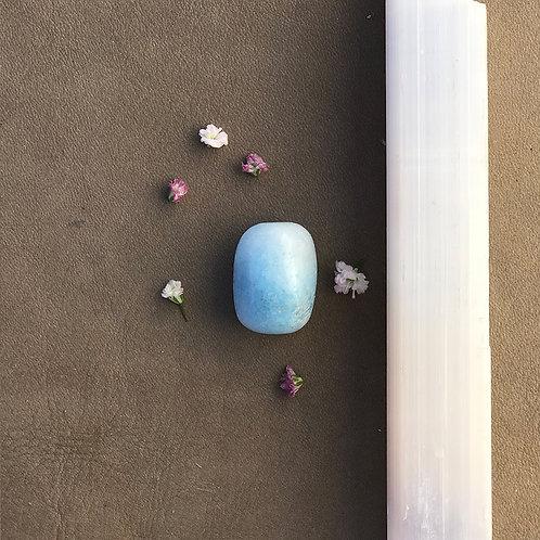 Blå aragonit