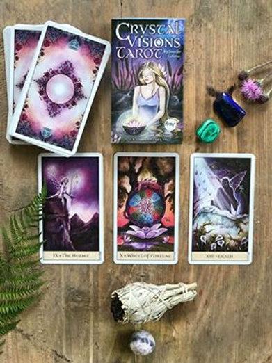 Crystal visions tarotkort, att spå i kort, House of Indra