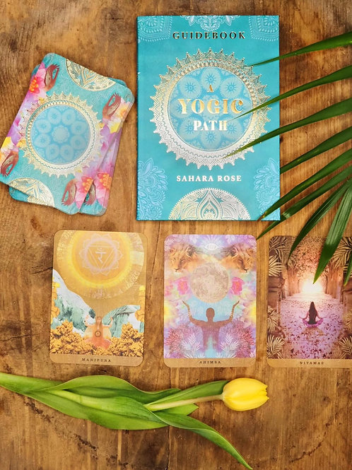 A yogic path, oracle cards